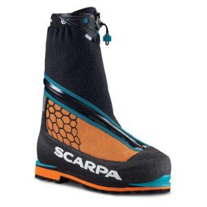 """Scarpa Phantom 6000 er en """"state of the art"""" dobbeltstøvle til teknisk bjergbestigning af toppe op til ca. 7000 m. Foto: Scarpa."""