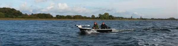 MSR Windboiler på fisketur