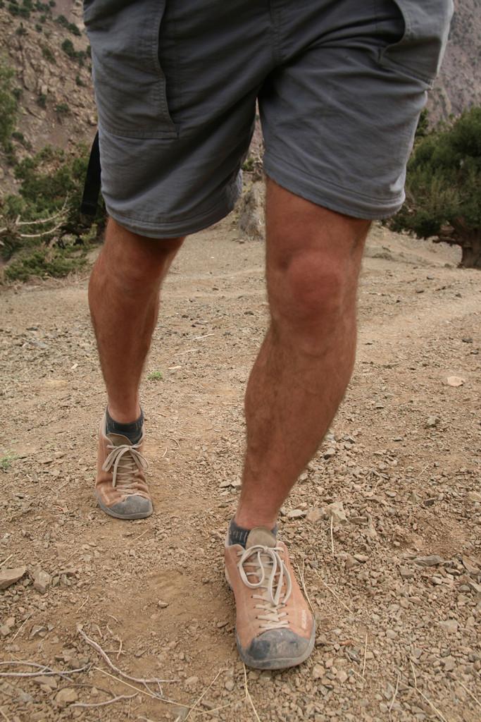Friluftslands webmand på tur i Marokkos bjerge med Scarpa Mojito