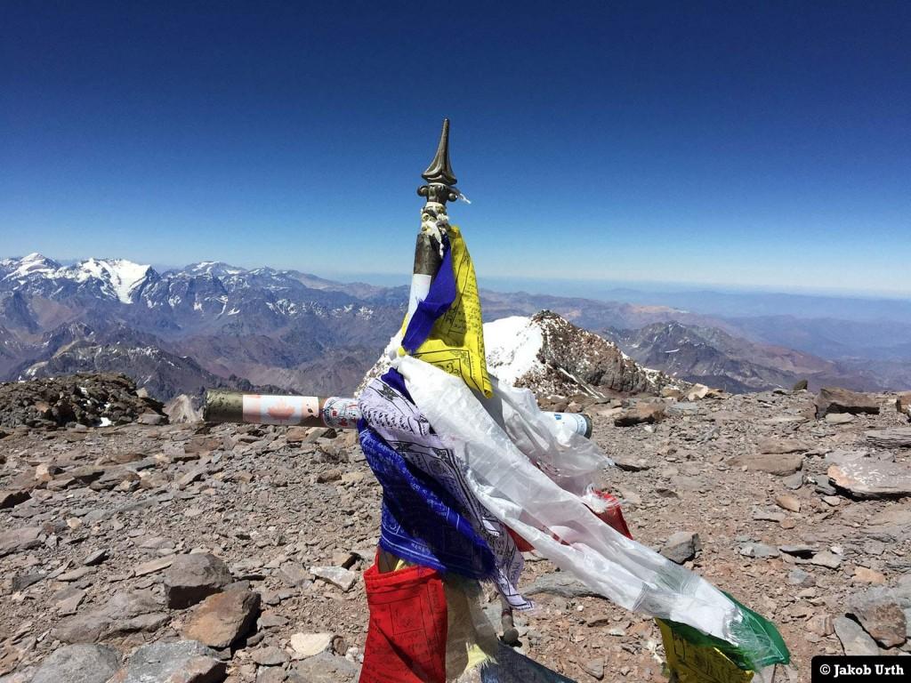 Toppen af Aconcagua (6962). Foto: Jakob Urth.