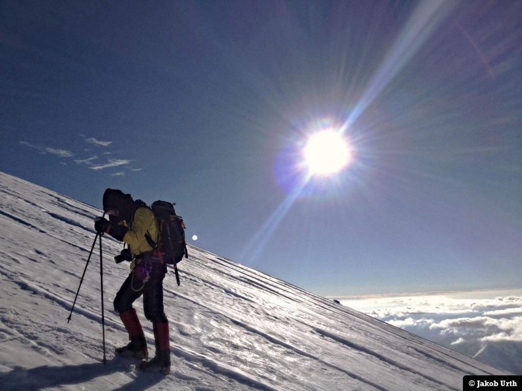 Der kæmpes hårdt under topforsøget. Foto: Jakob Urth.
