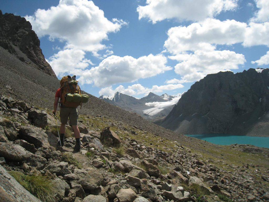 Vandretur i Kirgisistan. Foto: Christina Hjortdam.