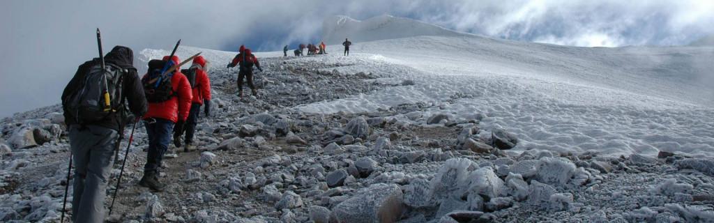 Mod toppen på Mount Ararat