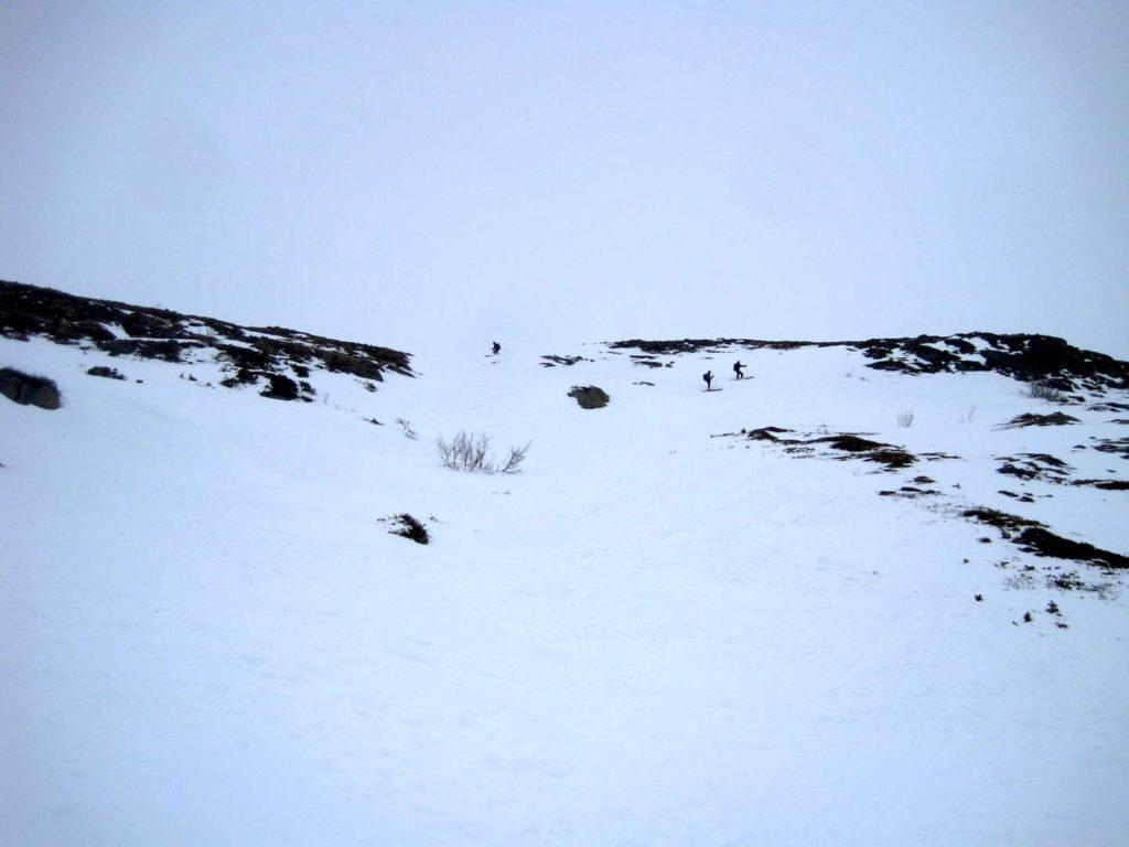 Det sidste stykke ned mod Memurubu. Foto: Rasmus B. Munk
