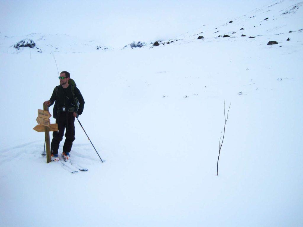 Den kvistede løjpe op gennem Memurudalen. Foto: Rasmus B. Munk.