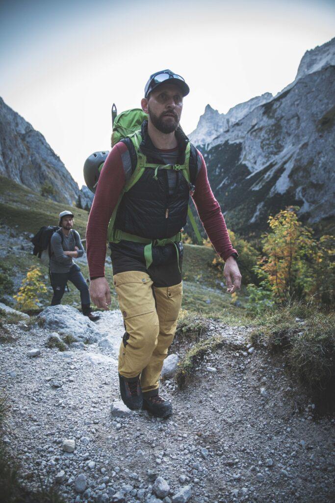 Lars Merulla på Hanwag Alpine Experience 2019