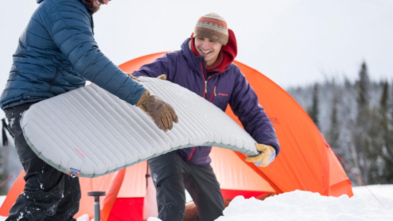 liggeunderlag til telt