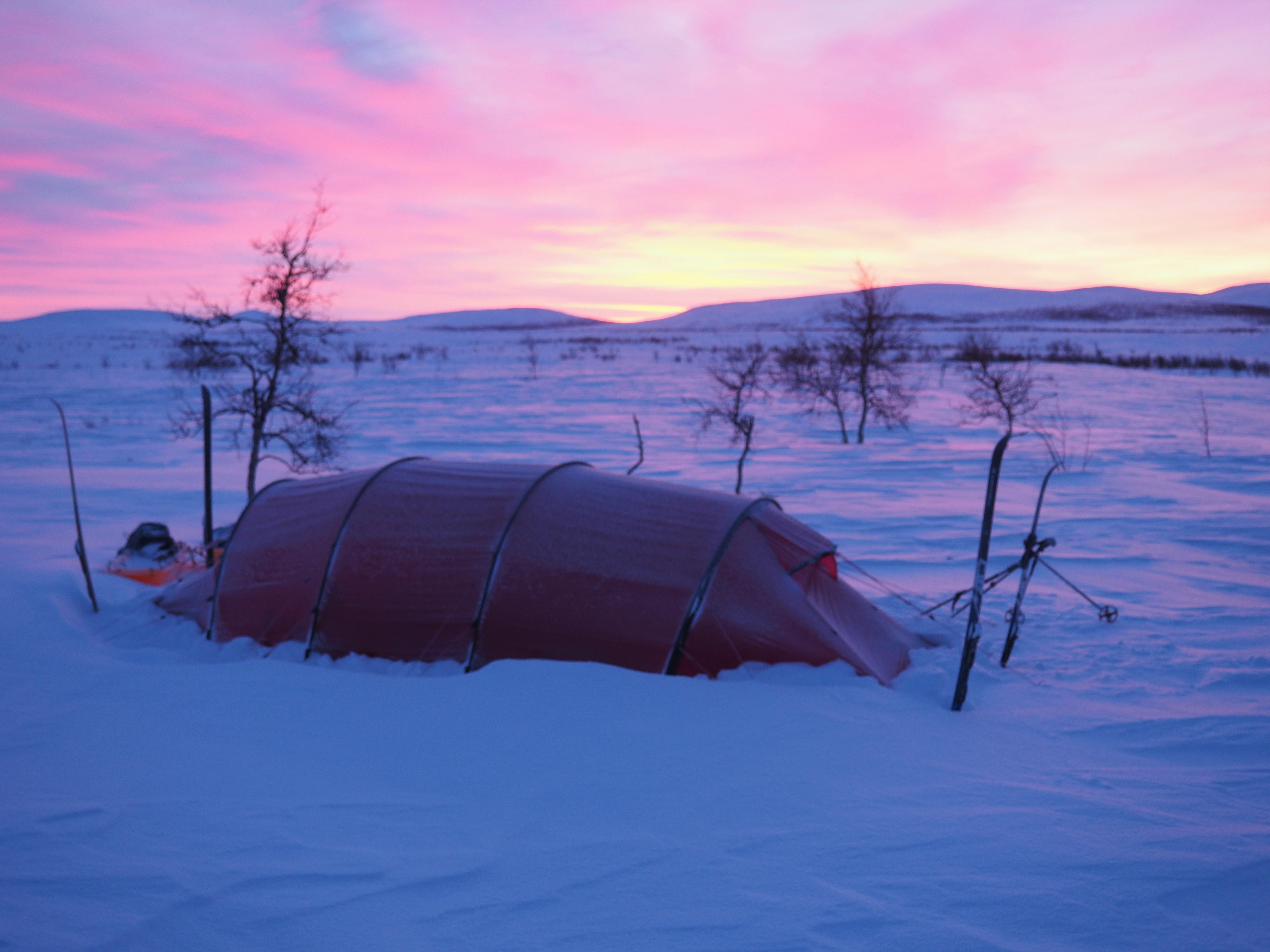 Vinterfjeld: 16 dage fra Abisko til Kautokeino med telt og pulk