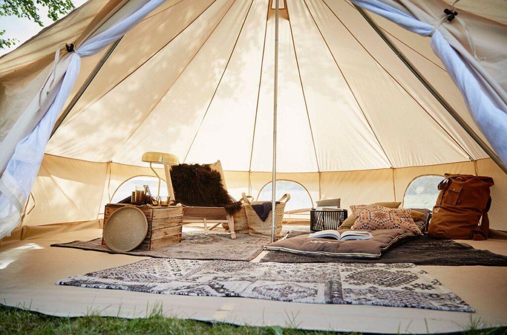 hvad koster en stol til campingferie i telt